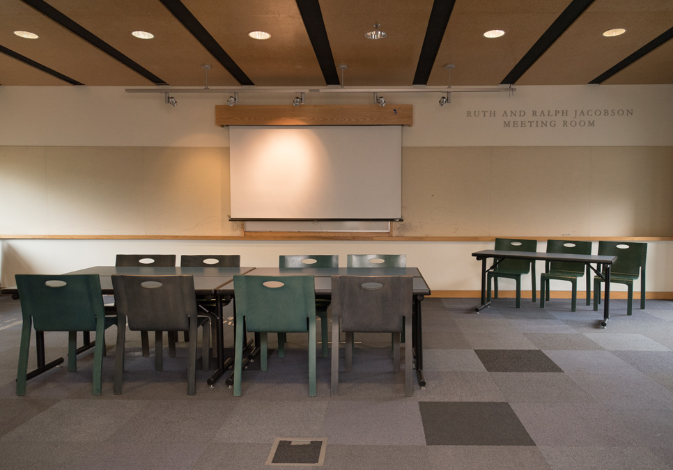 Meeting room area at the Broadview Branch