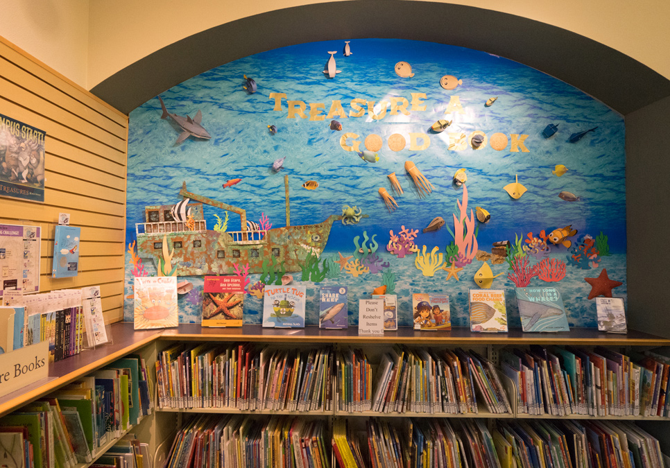 Children's area at the Delridge Branch