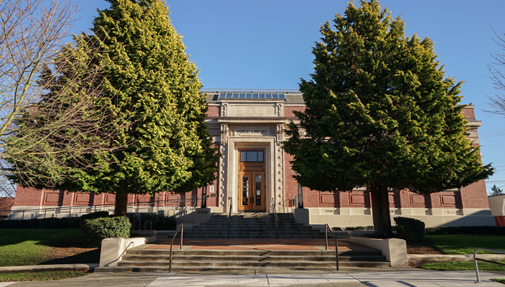 Exterior view of the West Seattle Branch