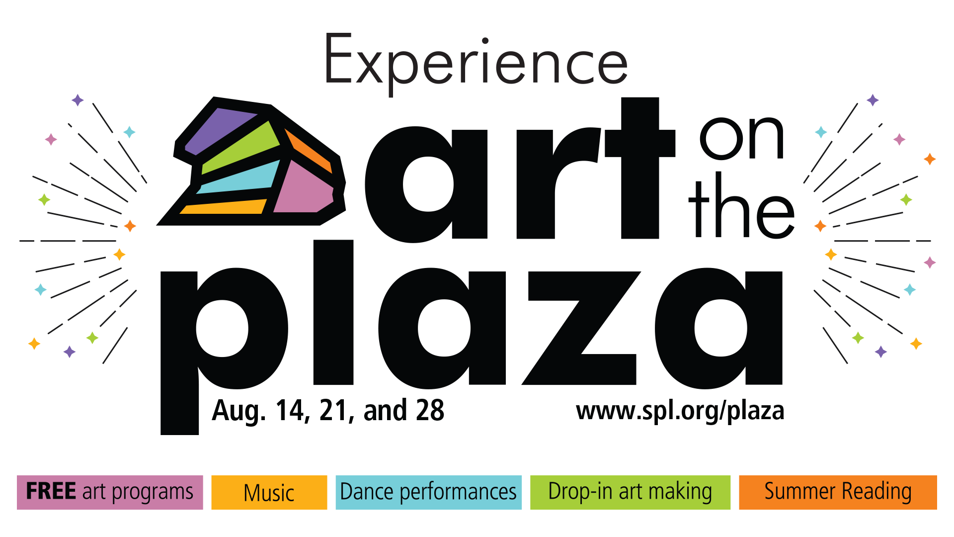 Art on the plaza graphic