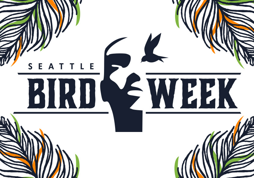 Seattle bird week graphic